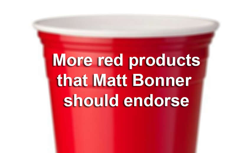The Spurs' Matter Bonner has signed on to be a brand ambassador for San Antonio's favorite flavored soda, Big Red. Here are 11 more red products, including Red Solo cups, we'd like to see the