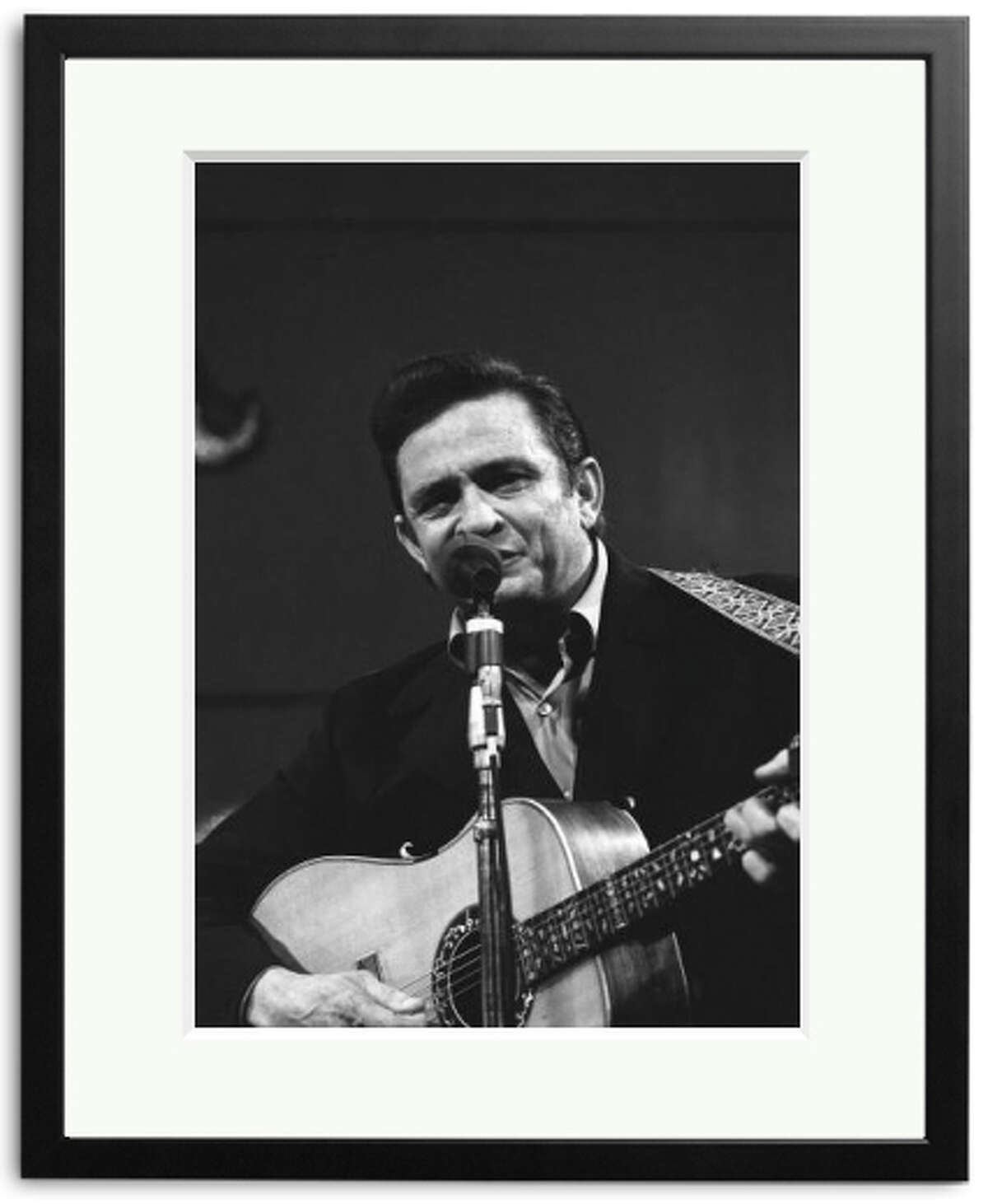 Sonic Editions is releasing for sale these never-before-seen photos of Johnny Cash at his legendary appearance with wife June Carter Cash at San Quentin. (Photo by ITV/REX)