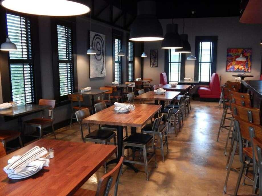 Urban Eats Bistro Bar Market Features A Sleek Modern Interior Photo