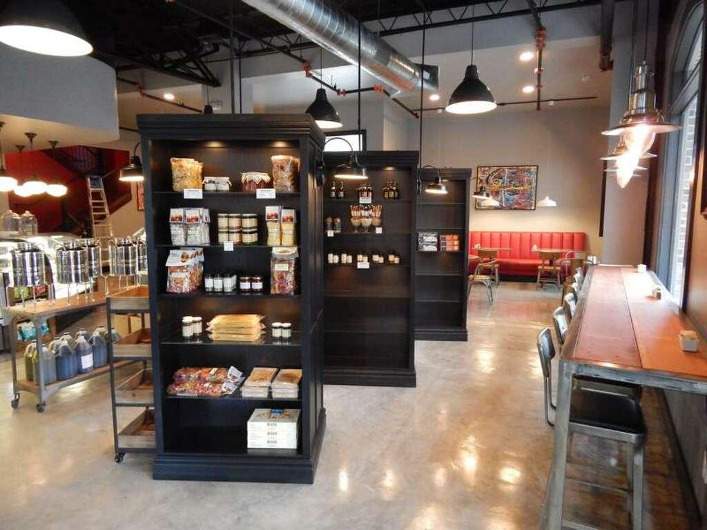 Interior Shot At The New Urban Eats Bistro Bar Market 3414 Washington Houston
