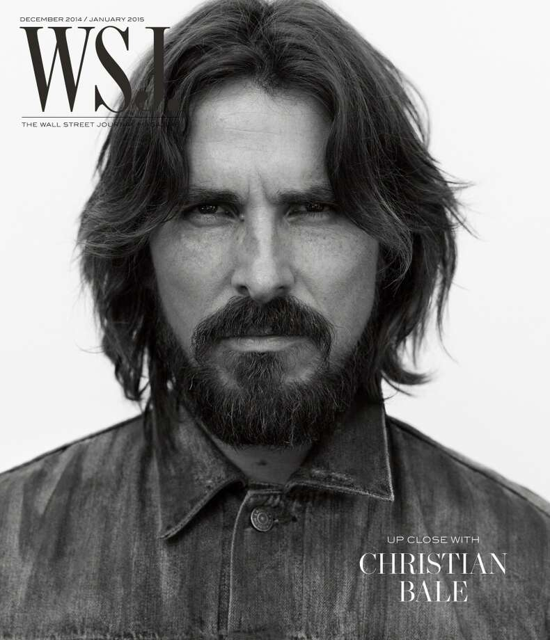 Christian Bale on the cover of WSJ Magazine. Photo: Photography By Mikael Jansson, WSJ Magazine