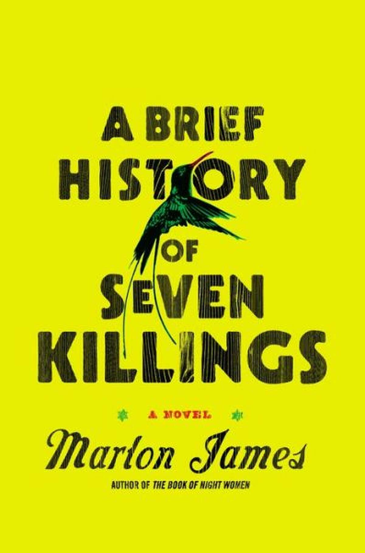 """Fiction:""""A Brief History of Seven Killings"""" by Marlon James. Anchored by the attempted 1976 assassination of Bob Marley, who is referred to as """"the Singer"""" throughout, James' story is narrated by more than a dozen voices, including a gangster, a boy soldier, a CIA station chief and a middle-class woman who emigrates to the U.S. This is a book about organized crime in Jamaica, and James' stylistic daring gives it an immediate, unforgettable power. (Riverhead)"""
