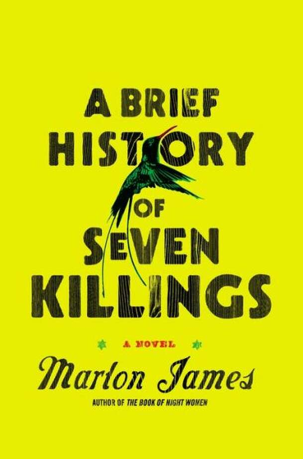 "Fiction:""A Brief History of Seven Killings"" by Marlon James. Anchored by the attempted 1976 assassination of Bob Marley, who is referred to as ""the Singer"" throughout, James' story is narrated by more than a dozen voices, including a gangster, a boy soldier, a CIA station chief and a middle-class woman who emigrates to the U.S. This is a book about organized crime in Jamaica, and James' stylistic daring gives it an immediate, unforgettable power. (Riverhead) Photo: Xx"