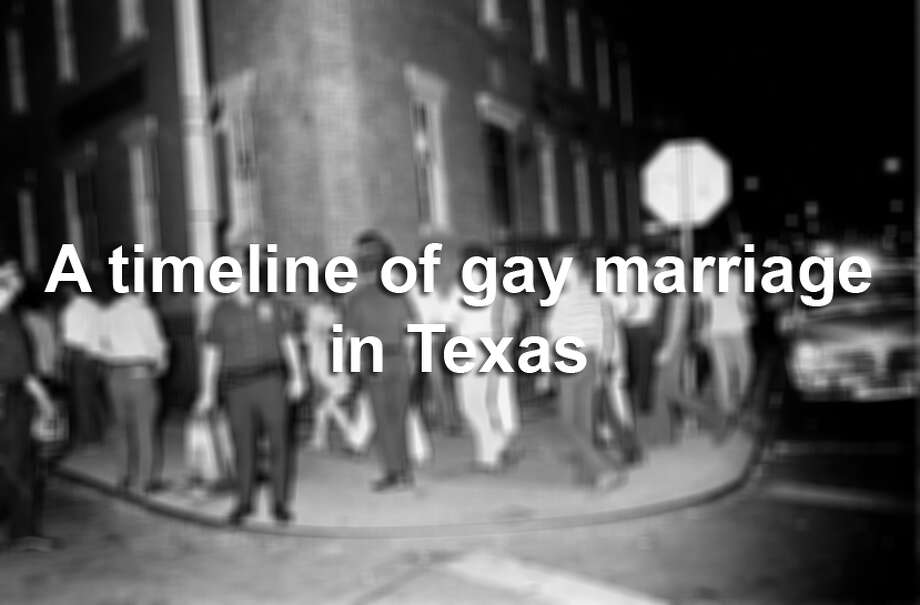"The story of Texas' first gay marriage was the 1972 version of a viral sensation, spreading in newspapers from Brownsville to Singapore. But when former football player Antonio Molina and William ""Billie"" Ert tied the knot, the way they went about it had unintended consequences.See how Molina and Ert's story shaped the gay rights movement in Texas in the timeline above. Photo: File"