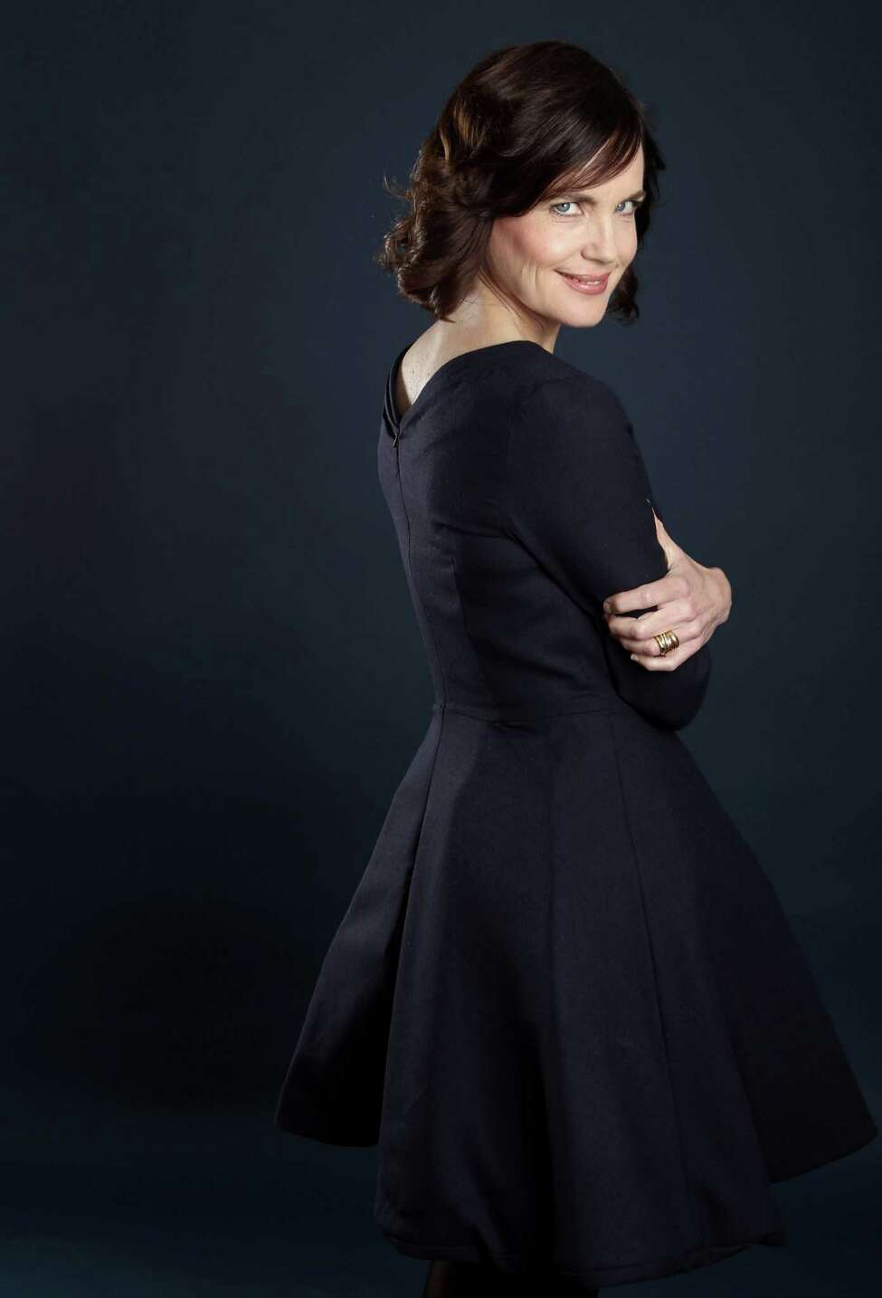 Actress Elizabeth McGovern, from