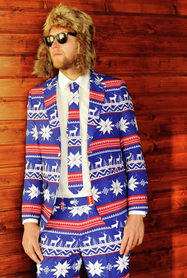 Red nose not included: The Rudolph, $109.95 Photo: Opposuits