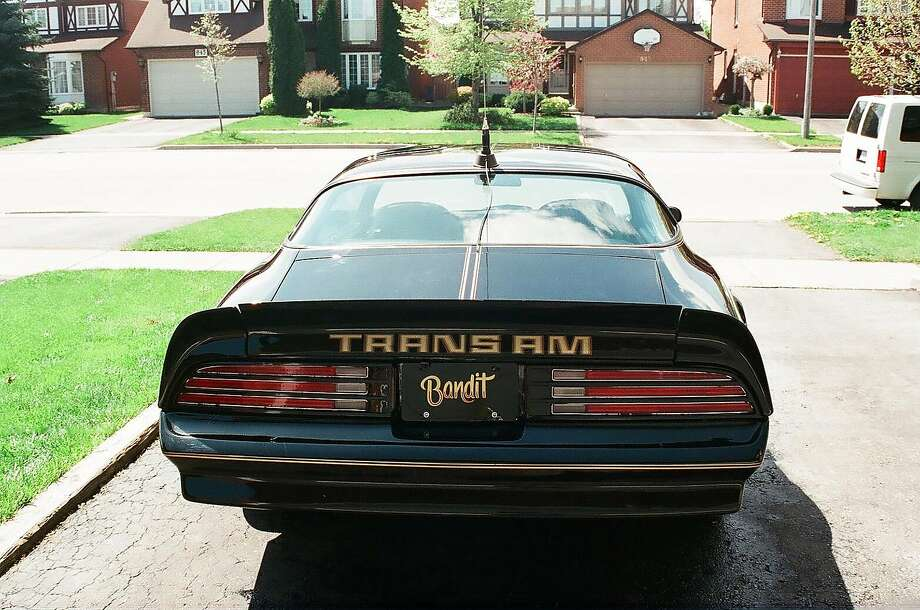 "Burt Reynolds' ""Smokey and the Bandit"" 1977 Pontiac Trans Am Coupe - Y82 Special Edition is up for auction. Photo: Julien's Auctions"