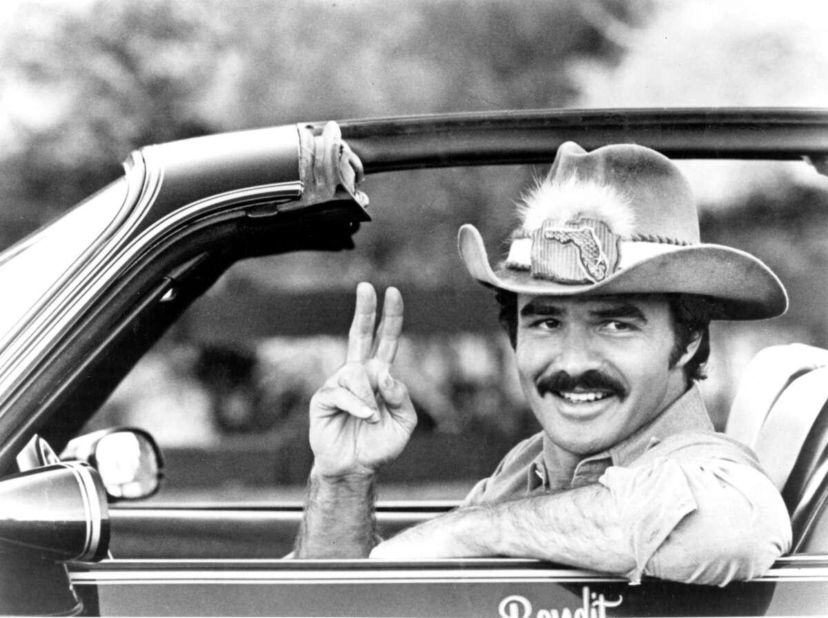 Burt Reynolds, star of the 1980 movie Smokey and the Bandit.