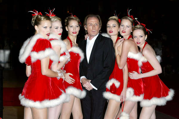 Bill Nighy Attends The 'Love Actually' Premiere In London.