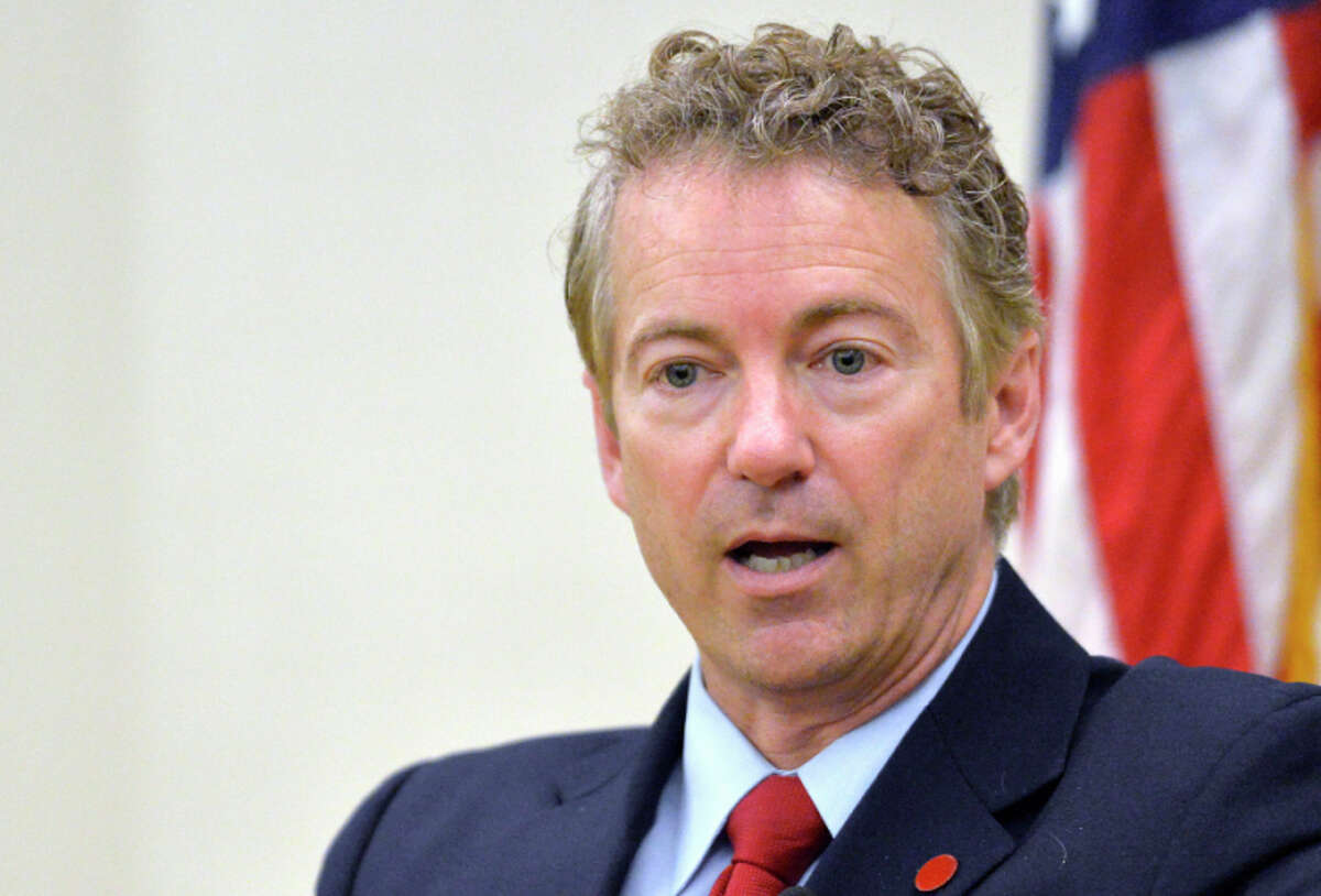 Paul, a possible presidential candidate, lashed out at Republicans who won't rein in military spending.