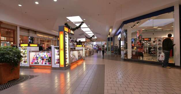 Interior view of the Rotterdam Square Mall which goes on sale today Monday Dec. 9, 2013,  in a two-day online auction run by Rockwood Real Estate Advisors and Auction.com.  The mall is located near Schenectady in Rotterdam, N.Y.      (Skip Dickstein/Times Union) ORG XMIT: MER2013120915370217 Photo: SKIP DICKSTEIN / 00024961A