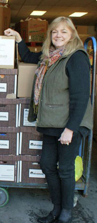 Kate Lombardo, executive director of the Food Bank of Lower Fairfield County. Photo: Contributed Photo / Stamford Advocate  contributed
