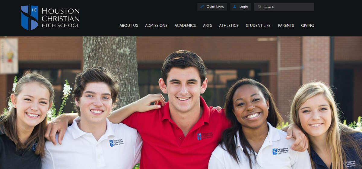 Houston Christian High School Grades : 9-12 Annual Tuition: $19,670 Source: Houston School Survey