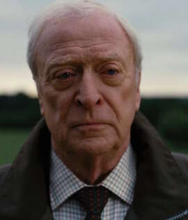 "An aging Michael Caine, in ""Interstellar,"" is older than he was in previous movies."