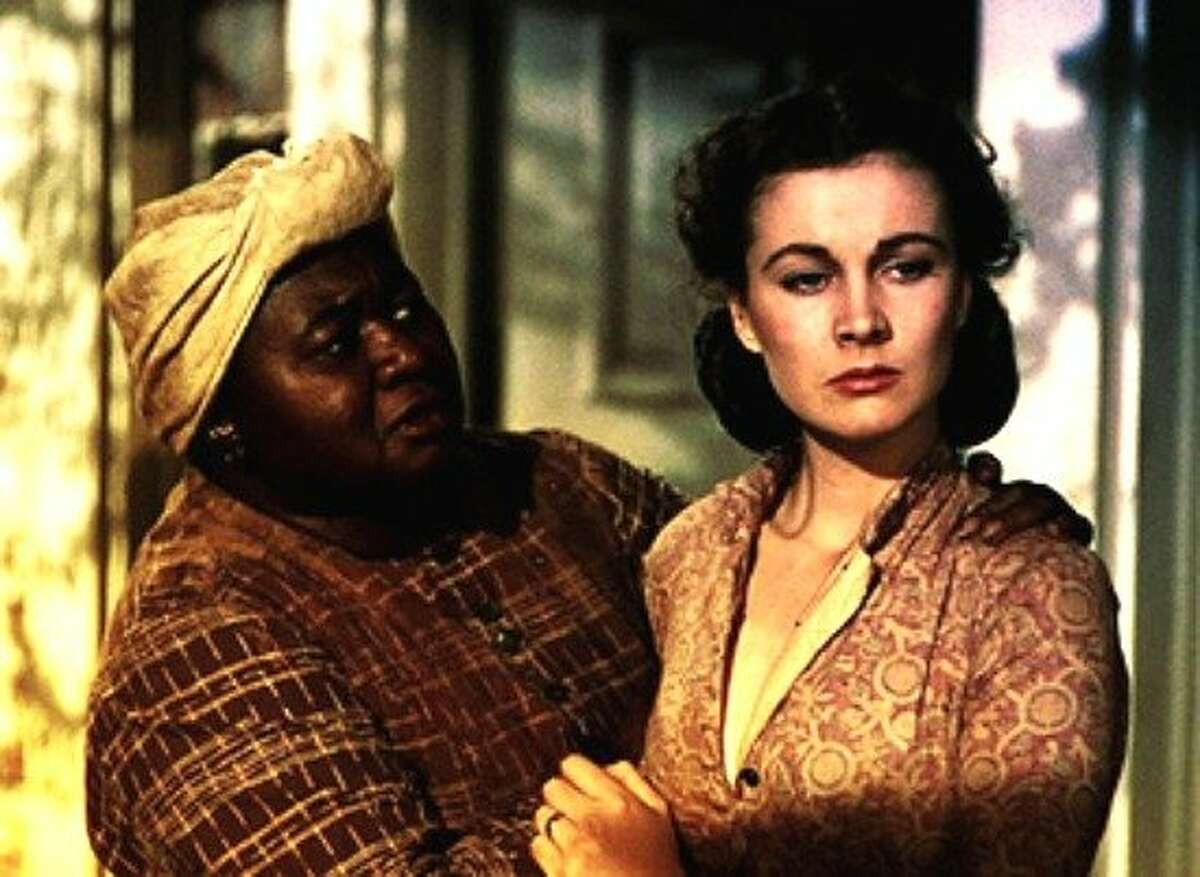 """Hattie McDaniel and Vivien Leigh in """"Gone With the Wind"""""""