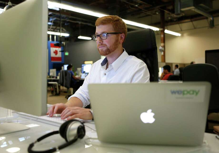 Bill Clerico, founder of WePay, works at his desk in the company's offices in Palo Alto, Calif., on Wednesday, Nov. 12, 2014. (Nhat V. Meyer/Bay Area News Group/TNS) Photo: Nhat V. Meyer, MBR / McClatchy-Tribune News Service / San Jose Mercury News