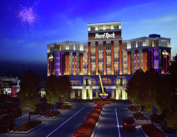 Photo of artist's rendering of the proposed Hard Rock Rensselaer. (Skip Dickstein/Times Union) ORG XMIT: MER2014090816040014 Photo: SKIP DICKSTEIN / 00028226A