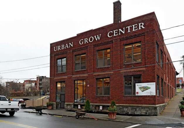Exterior view of the Capital District Community Gardens' Urban Grow Center Wednesday morning, Dec. 3, 2014, in Troy, N.Y. (Skip Dickstein/Times Union) Photo: SKIP DICKSTEIN / 00029638A
