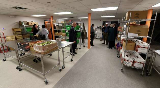 New displays were unveiled inside the Capital District Community Gardens' Urban Grow Center during their grand opening Wednesday morning, Dec. 3, 2014, in Troy, N.Y. (Skip Dickstein/Times Union) Photo: SKIP DICKSTEIN / 00029638A