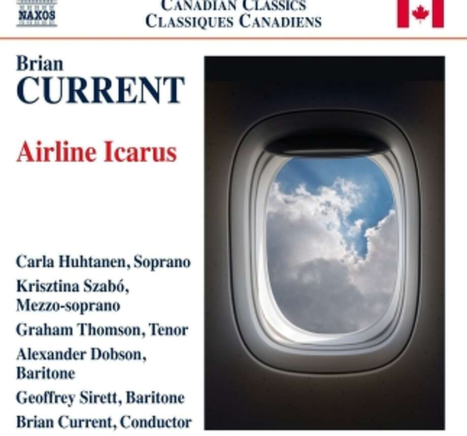 CD cover: Brian Current, Airline Icarus Photo: Naxos / Naxos / ONLINE_YES