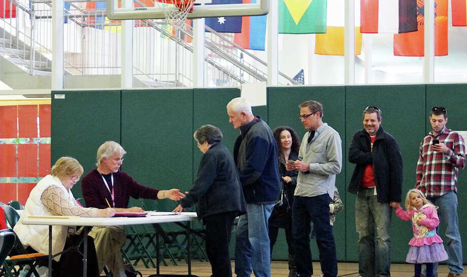 The Board of Selectmen appointed a committee to review problems that happened during the most recent election. Photo: Genevieve Reilly / Fairfield Citizen