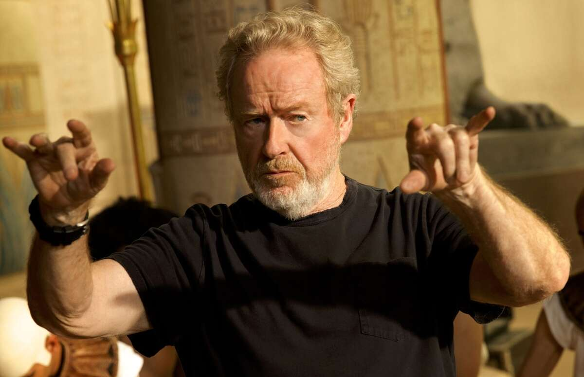 """Ridley Scott, above, director of the epic film """"Exodus: Gods and Kings."""""""