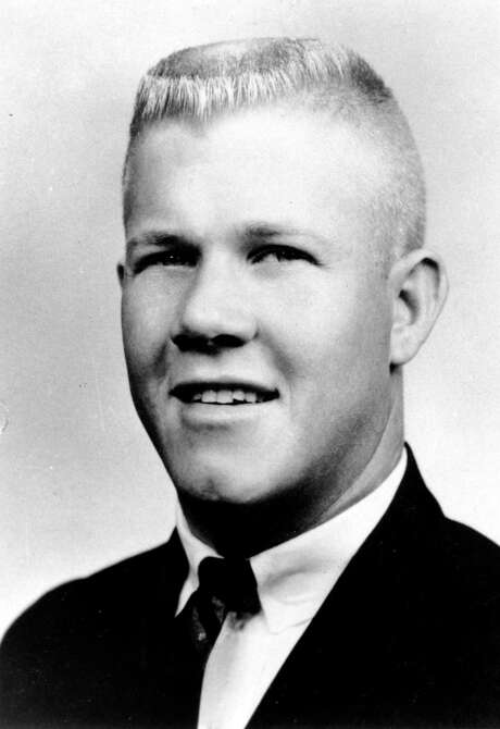 ** FILE ** Charles J. Whitman, a 24-year-old student at the University of Texas,  is shown in this  is a 1966 photograph. Until  the carnage at Virginia Tech in Blacksburg, Va., on Monday, April 16, 2007, the Aug. 1, 1966, sniping rampage by Whitman from the Austin school's landmark 307-foot tower had remained the deadliest campus shooting in U.S. history.  (AP Photo) / AP