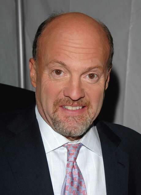 ** FILE ** In this May 12, 2008 file photo, TV Personality Jim Cramer arrives at the NBC Universal Experience at Rockefeller Center in New York. (AP Photo/Peter Kramer, file) Photo: Peter Kramer, STR / KRAPE