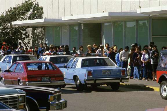 Dec. 3, 1984: Prince fans stand in line to buy concert tickets at the Joske's store at Northline Mall.