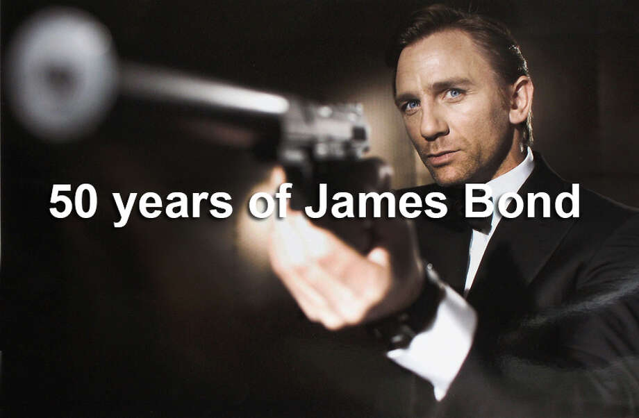 """James Bond is back, in a new film with a retro title that evokes the series' past. The next 007 adventure will be called """"SPECTRE,"""" the dastardly fictional terrorist organization featured in """"Dr. No"""" and other early Bond films.In this slideshow, take a look back at over 50 years of 007 Photo: Handout, File Photo / 2005 Eon Productions"""