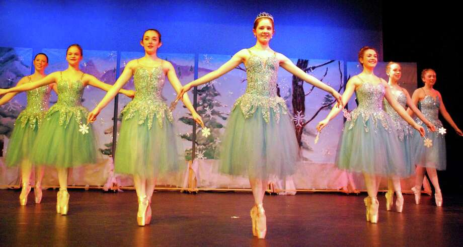 """Dancers from """"Scenes from the Nutcracker,"""" which will be performed Dec. 19-21 at the Darien Arts Center. Photo: Contributed Photo / Darien News"""