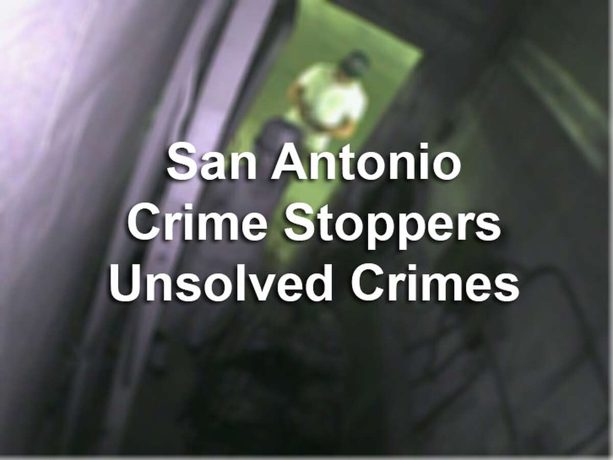 Click through to see what cases San Antonio Crime Stoppers are offering rewards for.