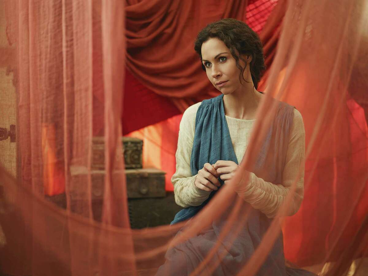 """Minnie Driver (""""Leah"""") stars in the all-new Lifetime miniseries, The Red Tent. Part-One premieres Sunday, December 7, at 9pm ET/PT followed by Part-Two on Monday, December 8, at 9pm ET/PT on Lifetime."""