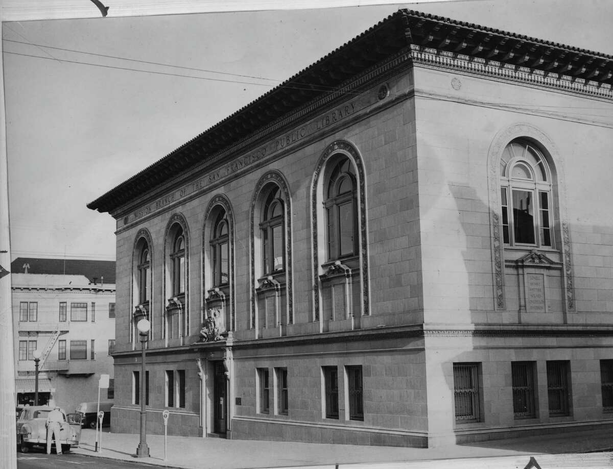 The San Francisco Public Library's Mission branch. It was one of more than 2,500 libraries built with donations from philanthropist Andrew Carnegie.