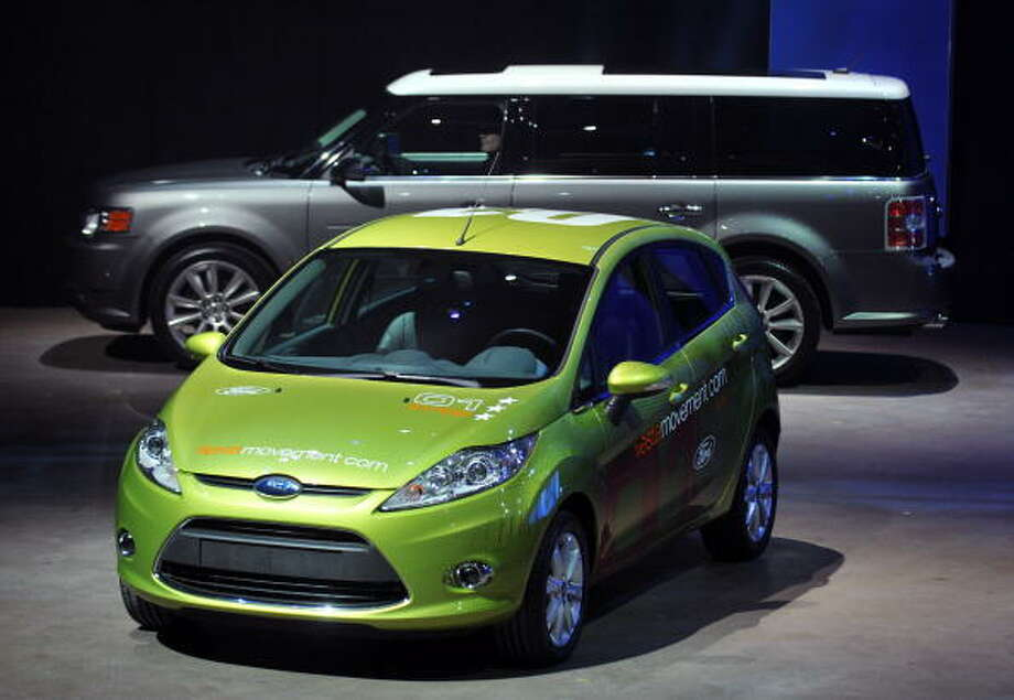 Ford FiestaWhere is the party? Not in this car.  Photo: Bryan Mitchell, File  / 2009 Getty Images