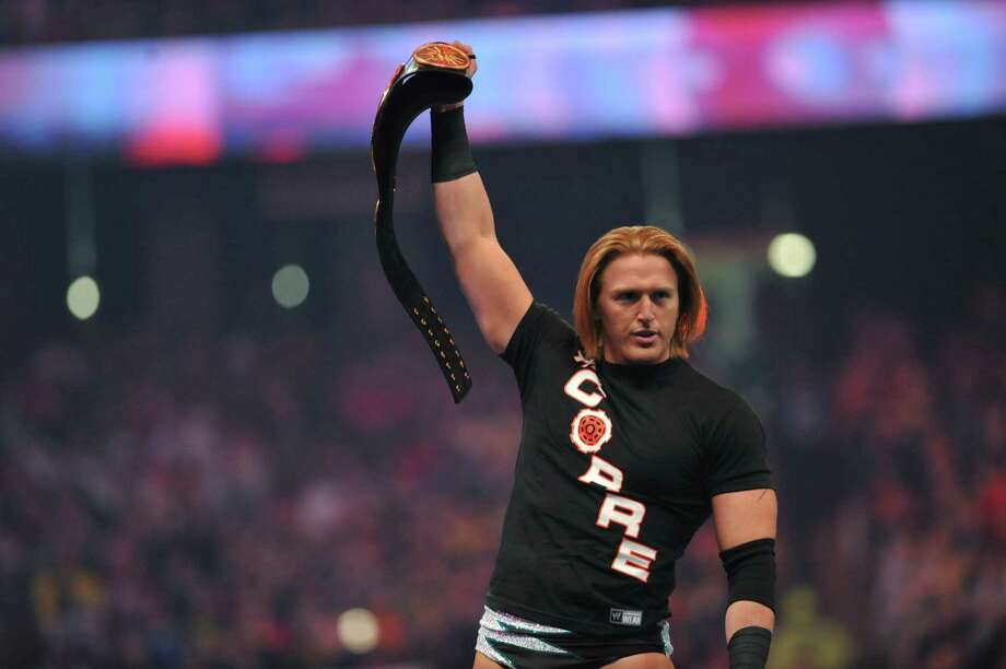 Atlanta Police have issued an arrest warrant for WWE Superstar Heath Slater, seen here at 'WrestleMania 27' at the Georgia World Congress Center on April 3, 2011.PHOTOS: More pro wrestlers who fought the law ...  Photo: Moses Robinson, Getty Images / 2011 Moses Robinson