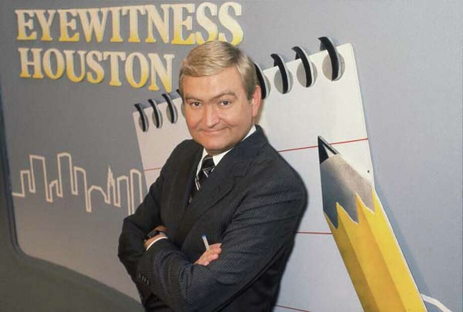 KTRK's Dave Ward in 1985  Photo: Ira Strickstein, Chronicle File / Houston Post files