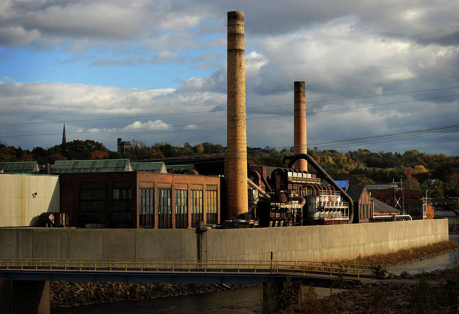 The closed Ansonia Copper and Brass factory on the Naugatuck River in downtown Ansonia, Conn. on Sunday, October 26, 2014. Photo: Brian A. Pounds / Connecticut Post