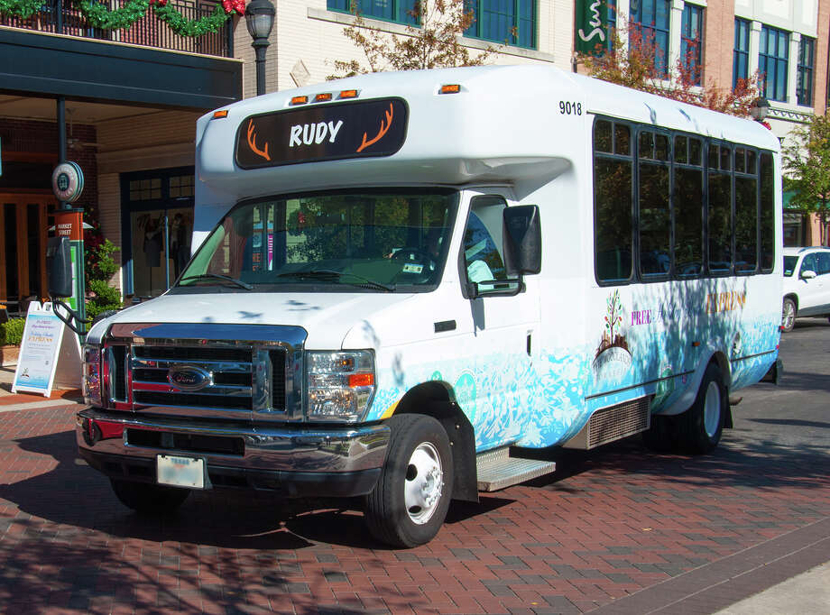 With the holiday season in full swing, shoppers can avoid parking problems in the bustling Town Center area of The Woodlands and hop on a free shuttle and ride to the mall or Market Street shopping center.