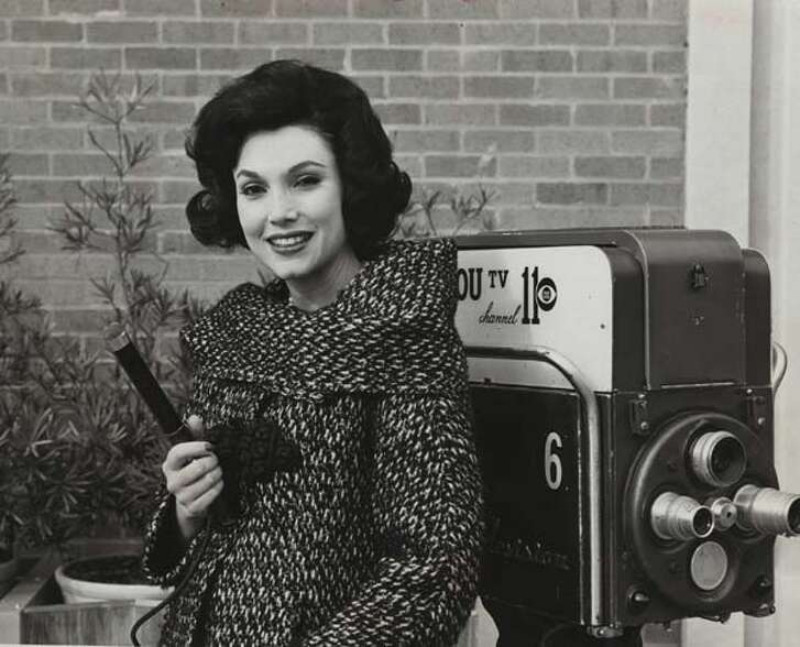 1964   KHOU reporter Joanne King, who later became known as Joanne Herring.