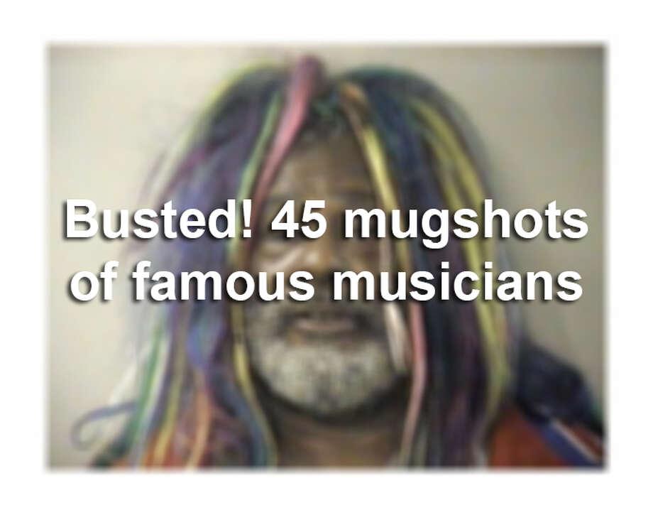 Busted! 45 mugshots of famous musicians Photo: Courtesy Photo