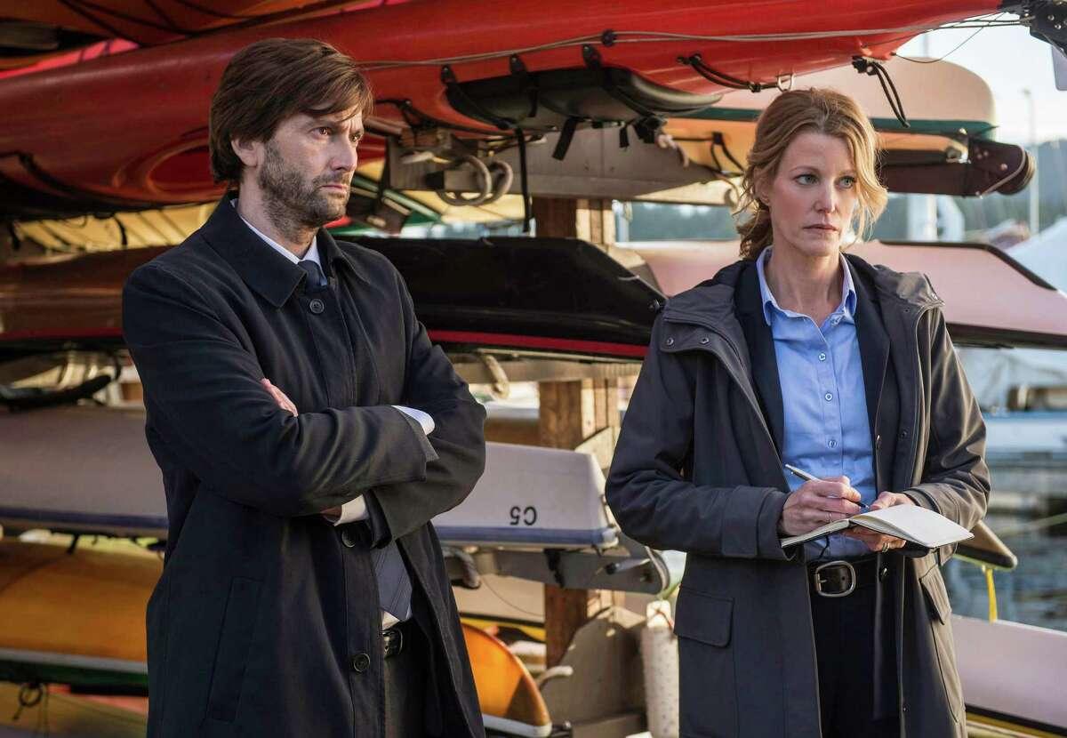 """David Tennant and Anna Gunn star in """"Gracepoint."""""""