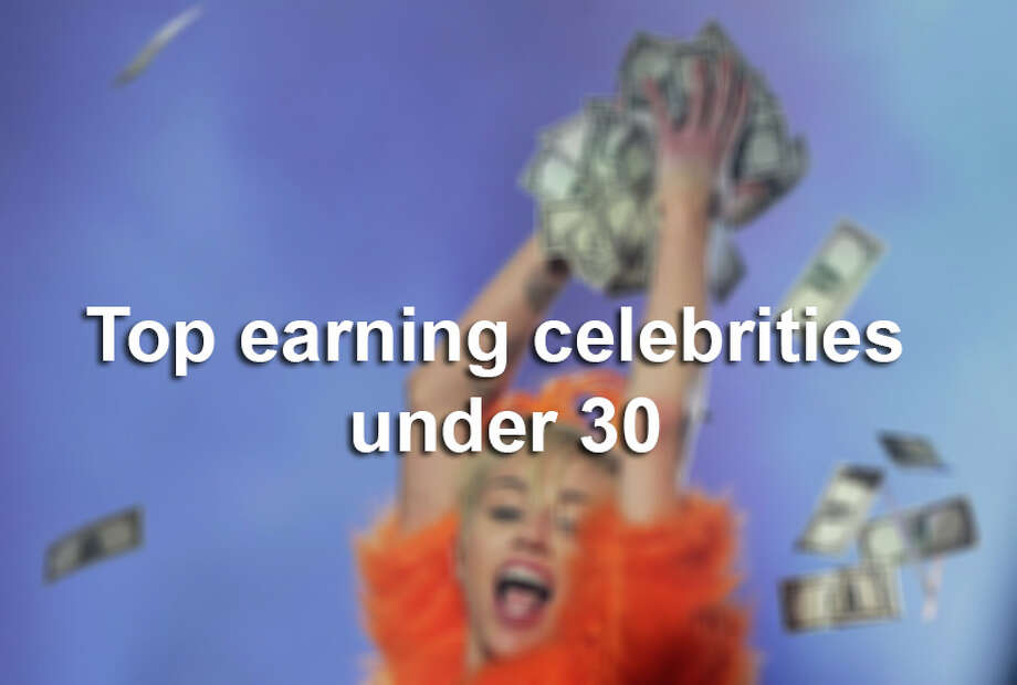 Forbes' top earning celebrities under 30 Photo: Mark Metcalfe, San Antonio Express-News / 2014 Getty Images