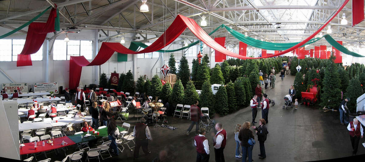 If the thought of chopping down your own is too much, let the Guardsmen do it for you at their annual Fort Mason Christmas Tree Lot. They'll also tie it up and secure it to your car.