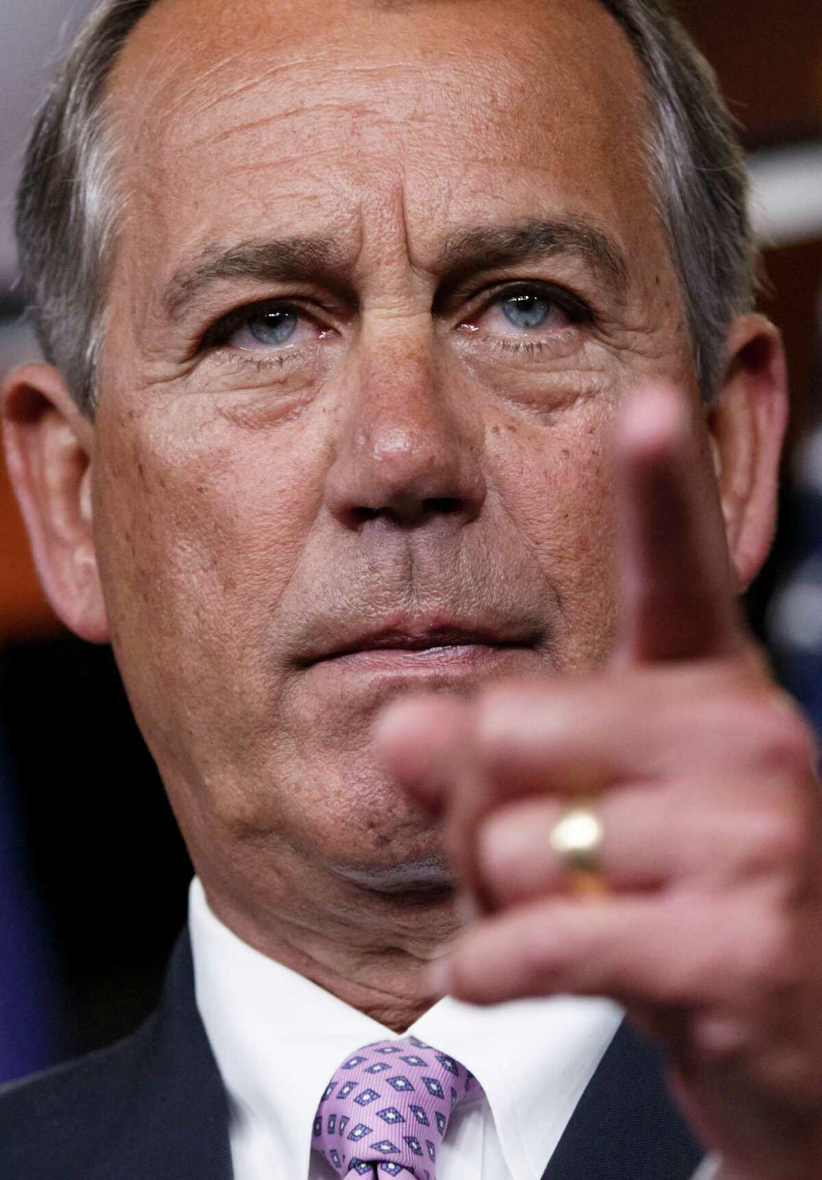 House Speaker John Boehner of Ohio and his fellow Republicans led an effort that slams president Obama's executive order on deportation of illegal immigrants.