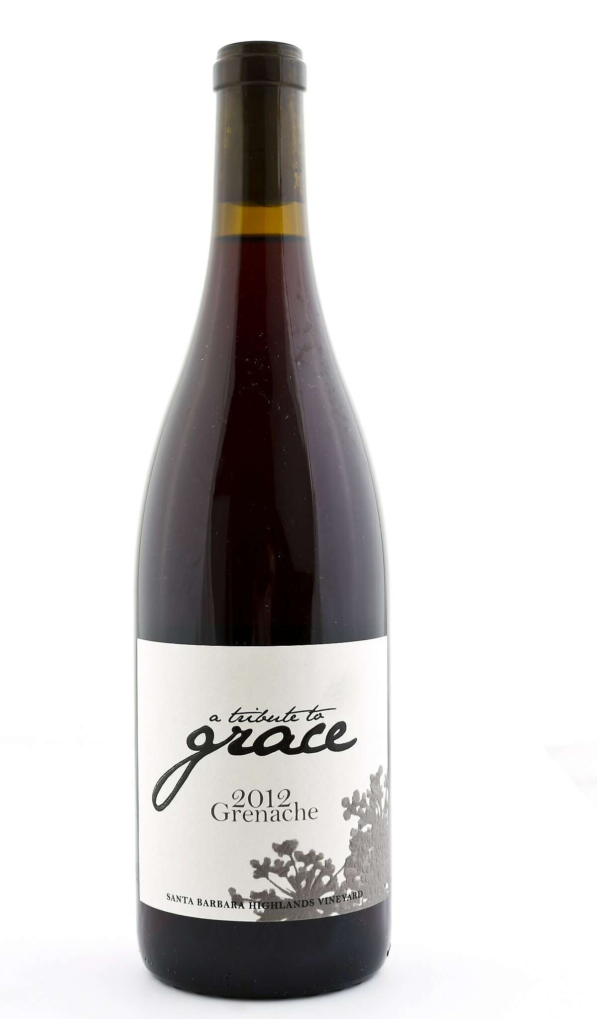A Tribute to Grace 2012 Grenache is seen on Thursday, Dec. 4, 2014 in San Francisco, Calif.