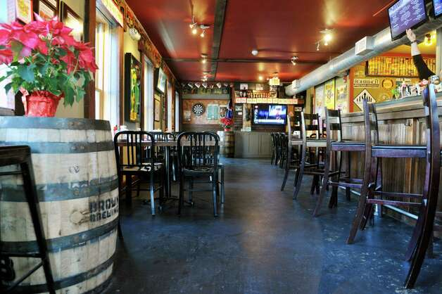 A view of the inside of The Barrel House on Tuesday, Dec. 2, 2014, in Saratoga Springs, N.Y.  (Paul Buckowski / Times Union) Photo: Paul Buckowski / 00029690A
