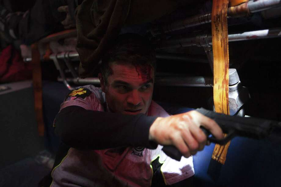 """Alex (actor/director/writer Kuno Becker) is trapped with a group of paramedics attempting to save a man at the Arizona/Mexico border in """"Panic 5 Bravo."""" Photo: Juan Jose Saravia/Videocine"""