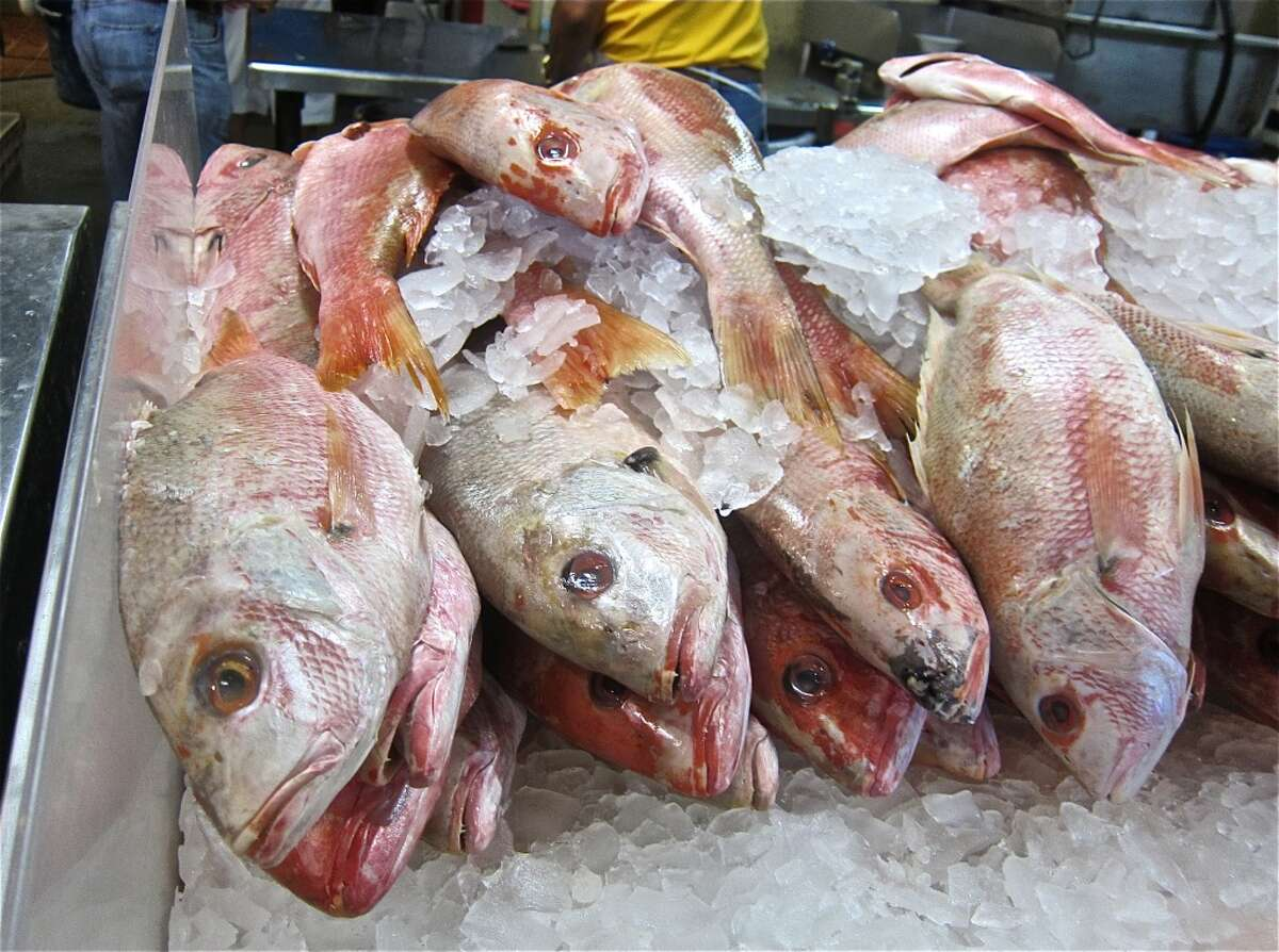 The Seafood Market in Seabrook Enjoy some very fresh fish.