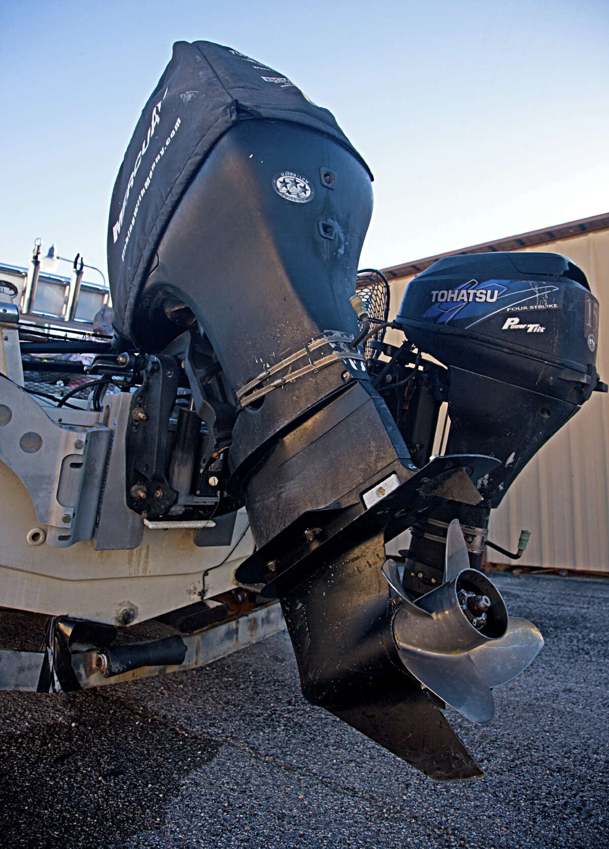 Before a boat is stored for the winter, the motor requires some maintenance to ensure that it will be ready to go in the spring, including a tune-up, fresh gear lube in the lower unit and removal of the propeller to check the shaft for fishing line, which can damage seals.